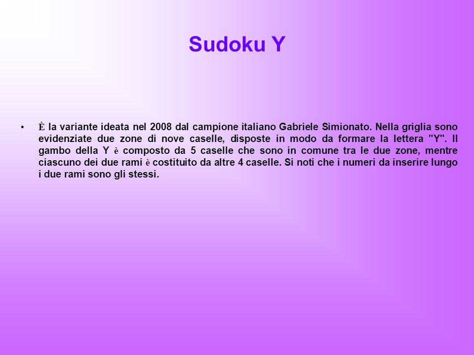 Sudoku Y