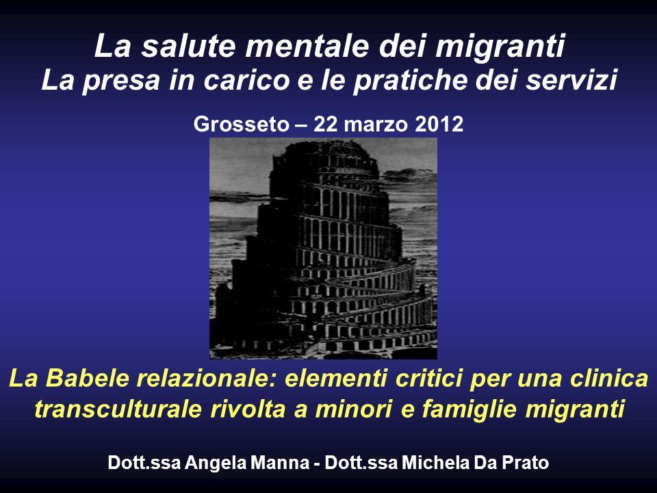 Dott.ssa Angela Manna - Dott.ssa Michela Da Prato