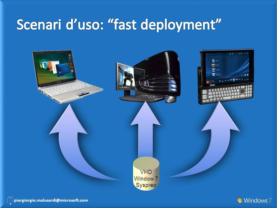 Scenari d'uso: fast deployment