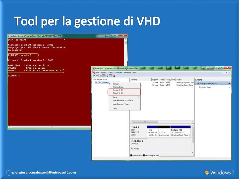Tool per la gestione di VHD