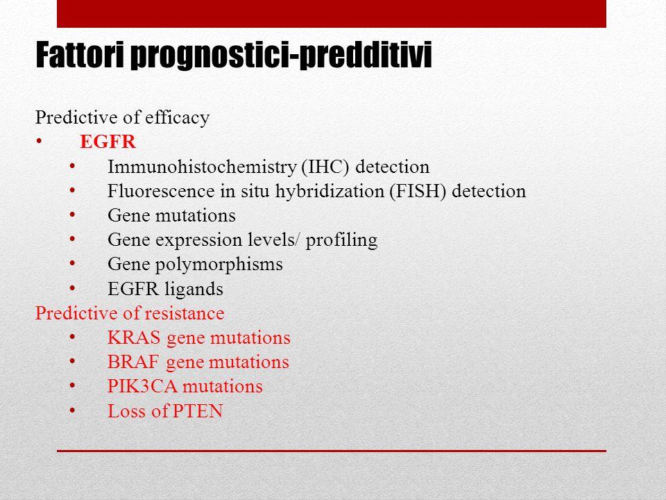 Fattori prognostici-predditivi