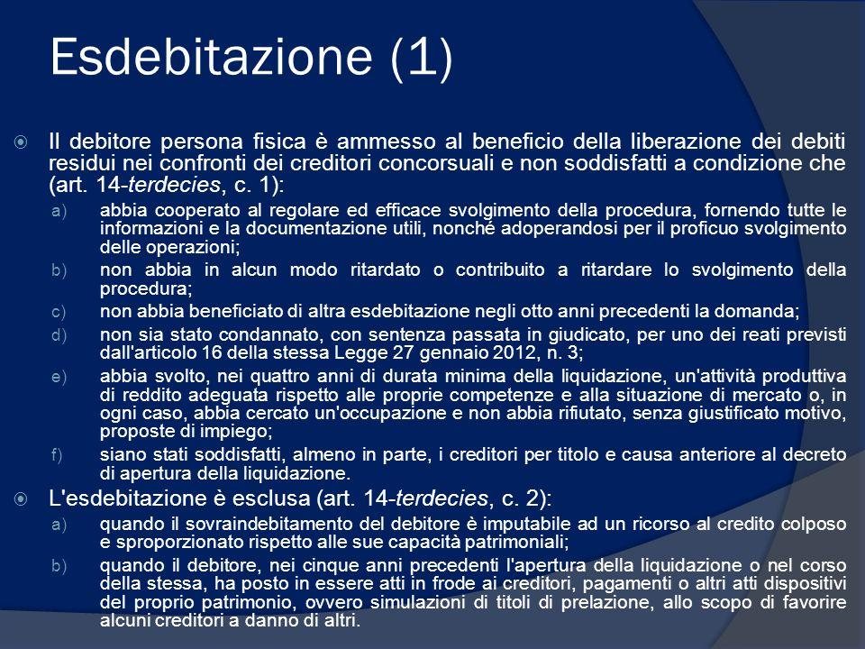 Esdebitazione (1)