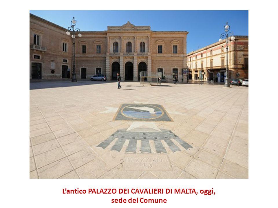 L'antico PALAZZO DEI CAVALIERI DI MALTA, oggi,