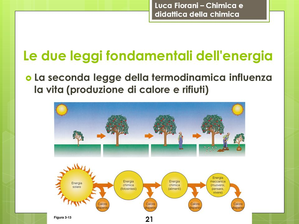 Le due leggi fondamentali dell energia