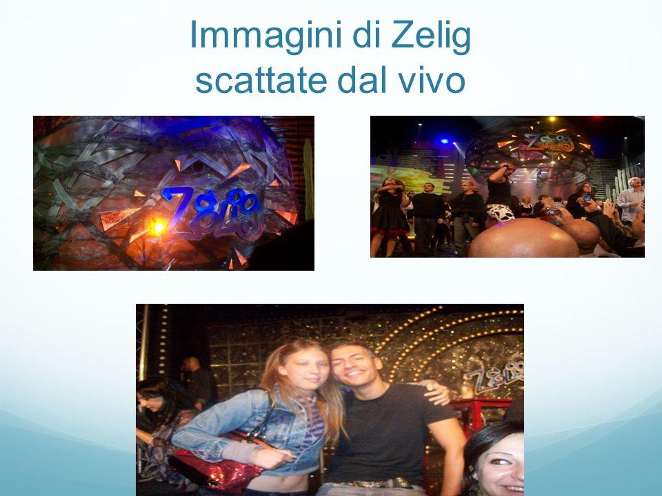 Immagini di Zelig scattate dal vivo