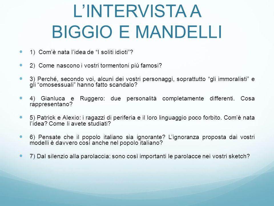 L'INTERVISTA A BIGGIO E MANDELLI