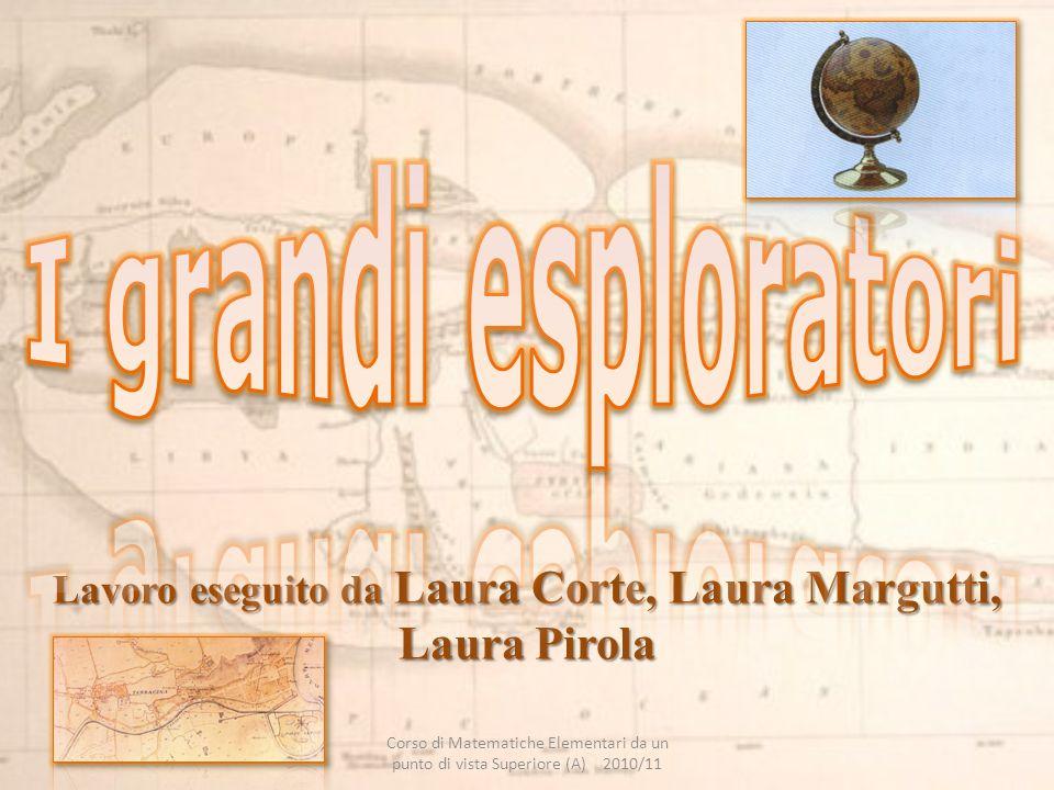 Lavoro eseguito da Laura Corte, Laura Margutti, Laura Pirola