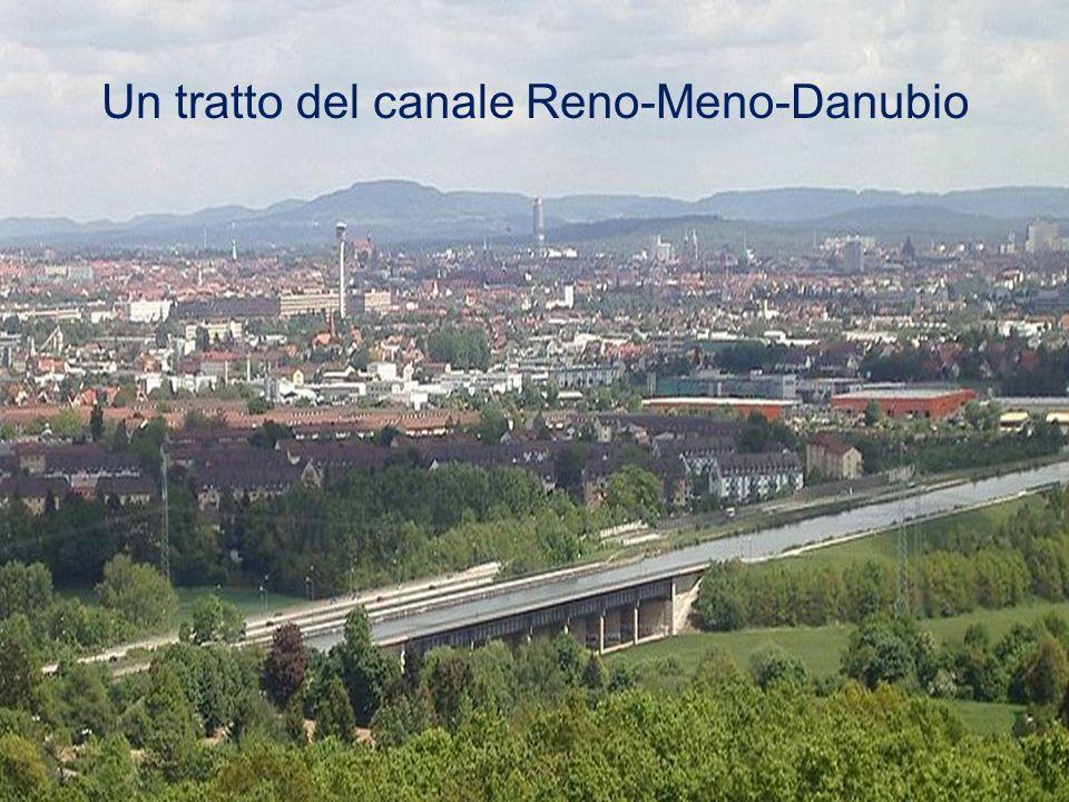 Un tratto del canale Reno-Meno-Danubio