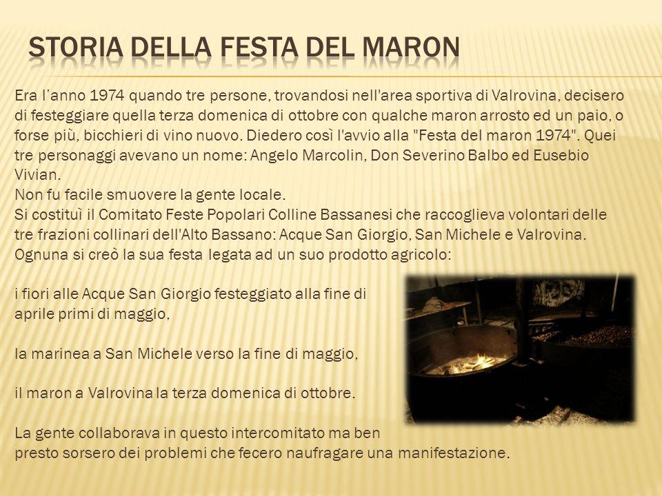 Storia della festa del Maron