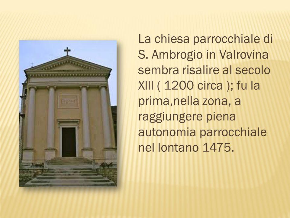 La chiesa parrocchiale di