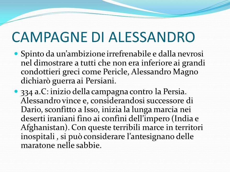 CAMPAGNE DI ALESSANDRO
