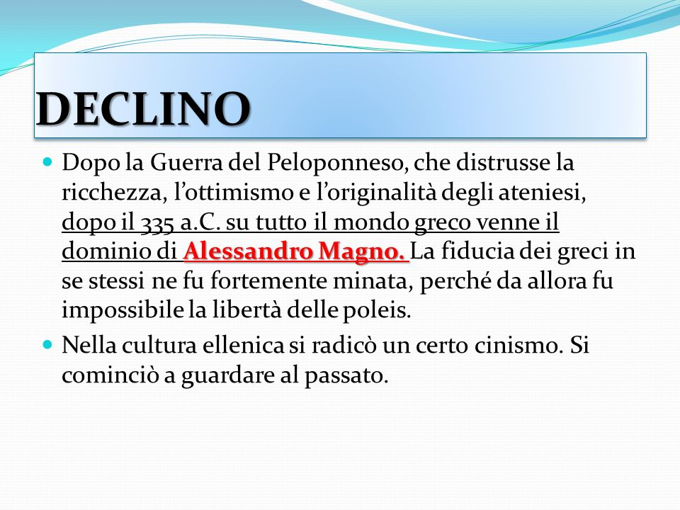 DECLINO