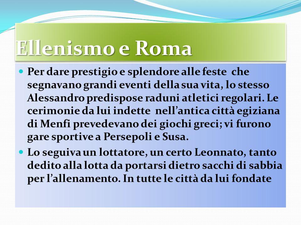 Ellenismo e Roma