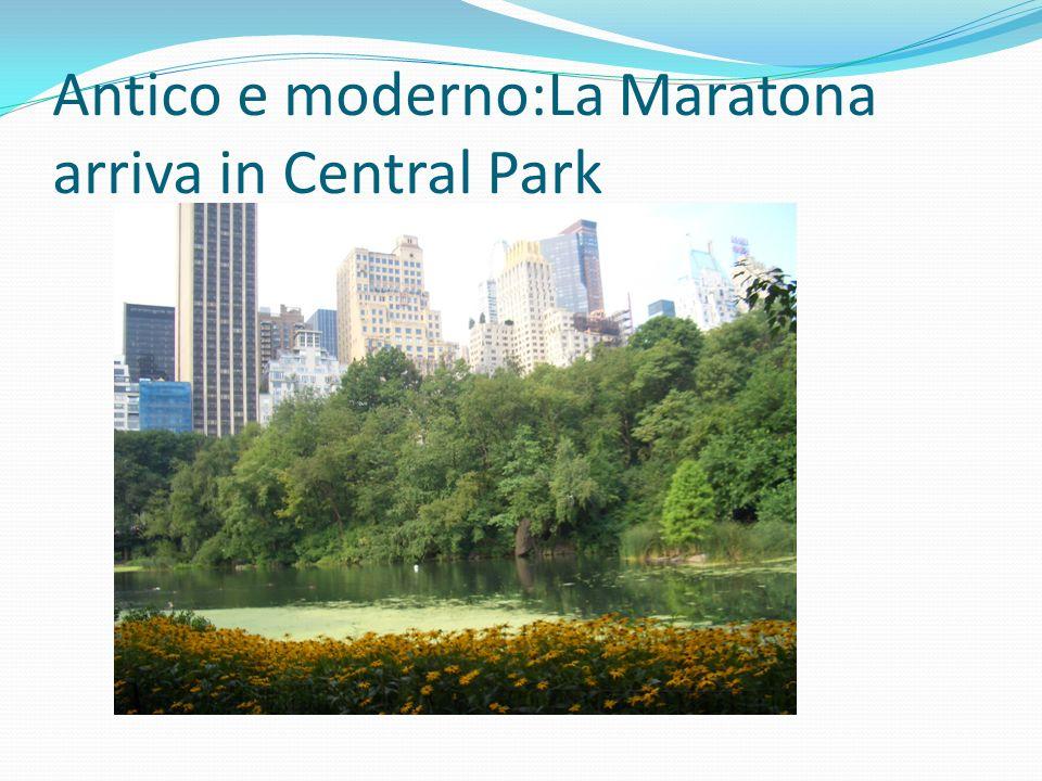 Antico e moderno:La Maratona arriva in Central Park