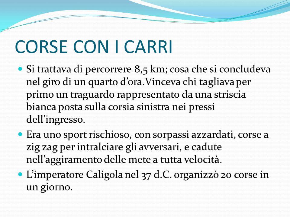 CORSE CON I CARRI