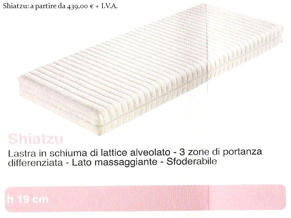 Shiatzu: a partire da 439,00 € + I.V.A.