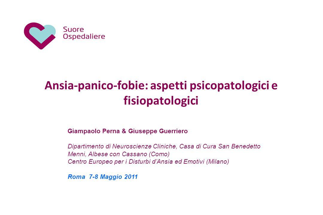 Ansia-panico-fobie: aspetti psicopatologici e fisiopatologici