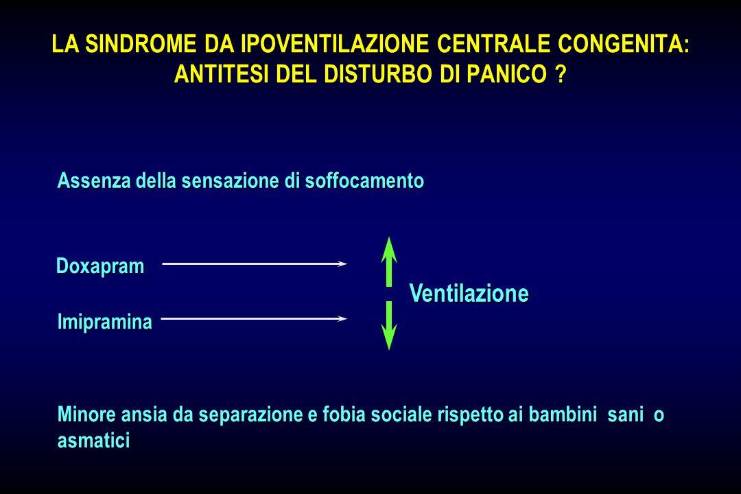 LA SINDROME DA IPOVENTILAZIONE CENTRALE CONGENITA: ANTITESI DEL DISTURBO DI PANICO