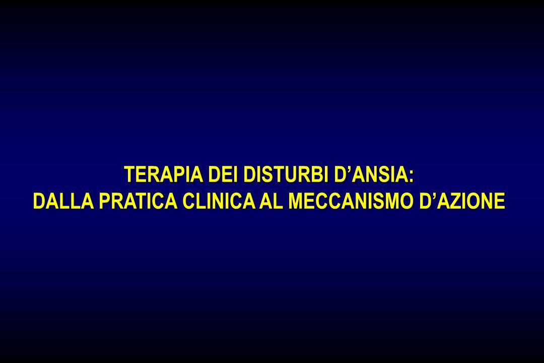 TERAPIA DEI DISTURBI D'ANSIA: