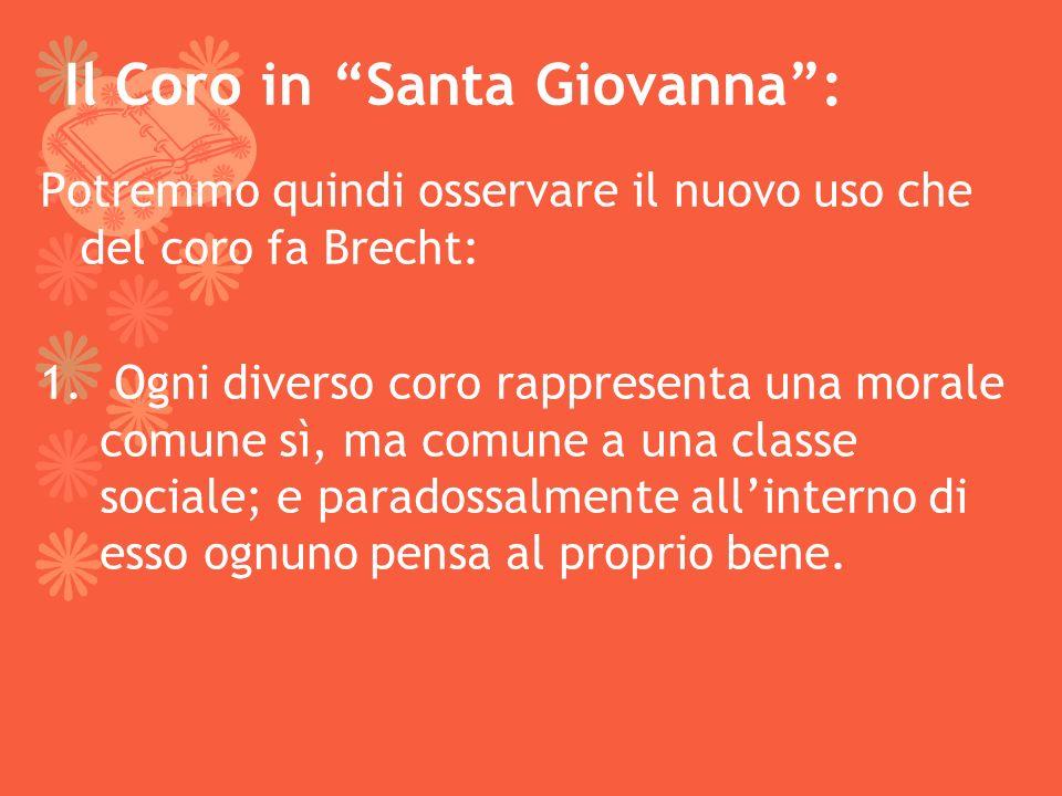 Il Coro in Santa Giovanna :