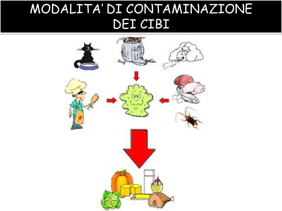 MODALITA' DI CONTAMINAZIONE
