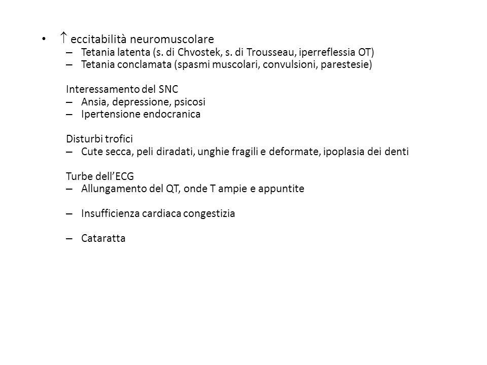  eccitabilità neuromuscolare