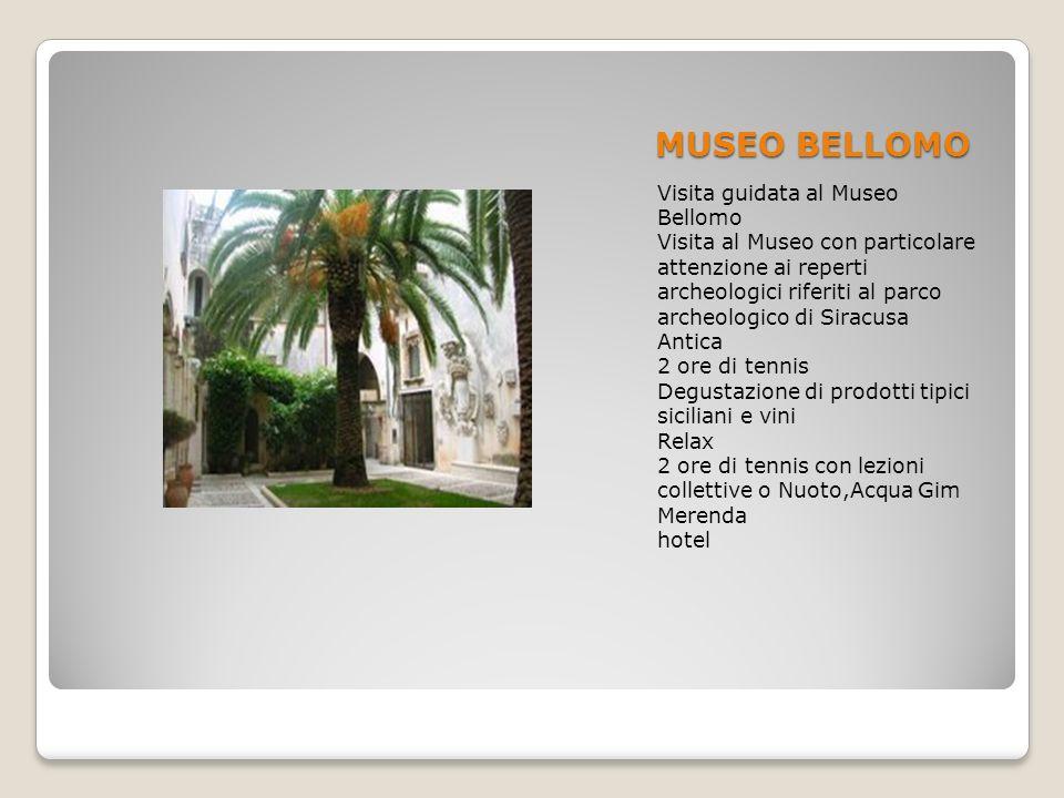 MUSEO BELLOMO Visita guidata al Museo Bellomo