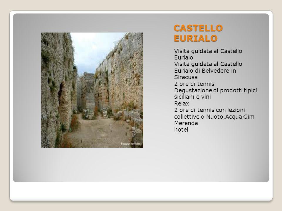 CASTELLO EURIALO Visita guidata al Castello Eurialo