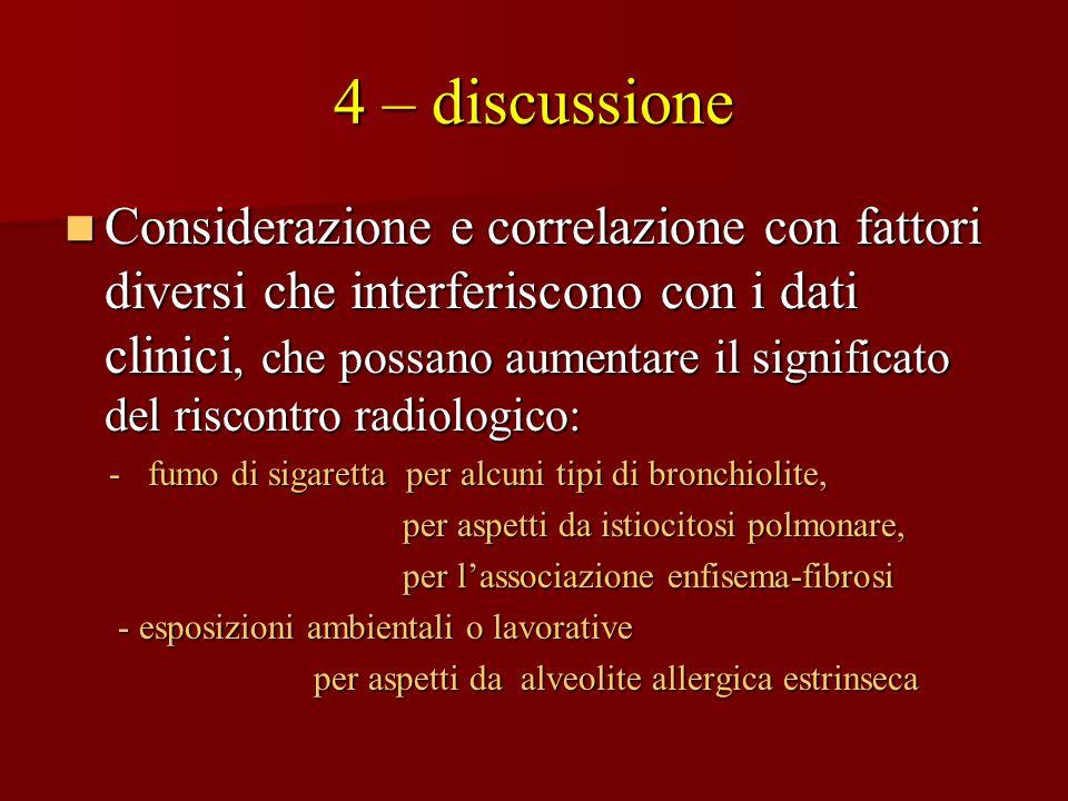 4 – discussione