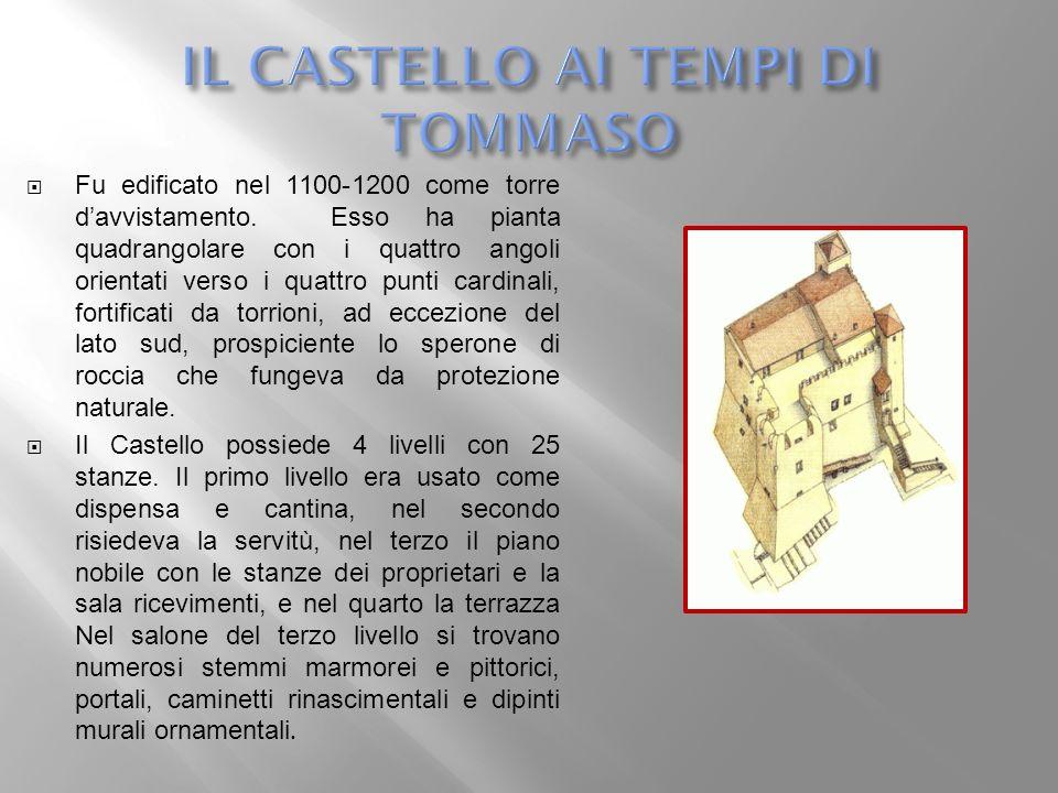 IL CASTELLO AI TEMPI DI TOMMASO