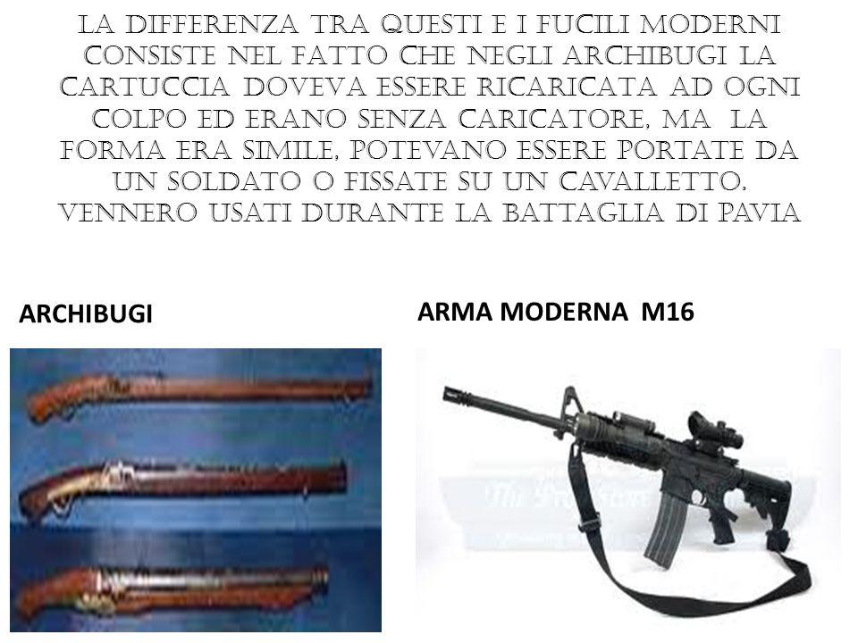 ARCHIBUGI ARMA MODERNA M16