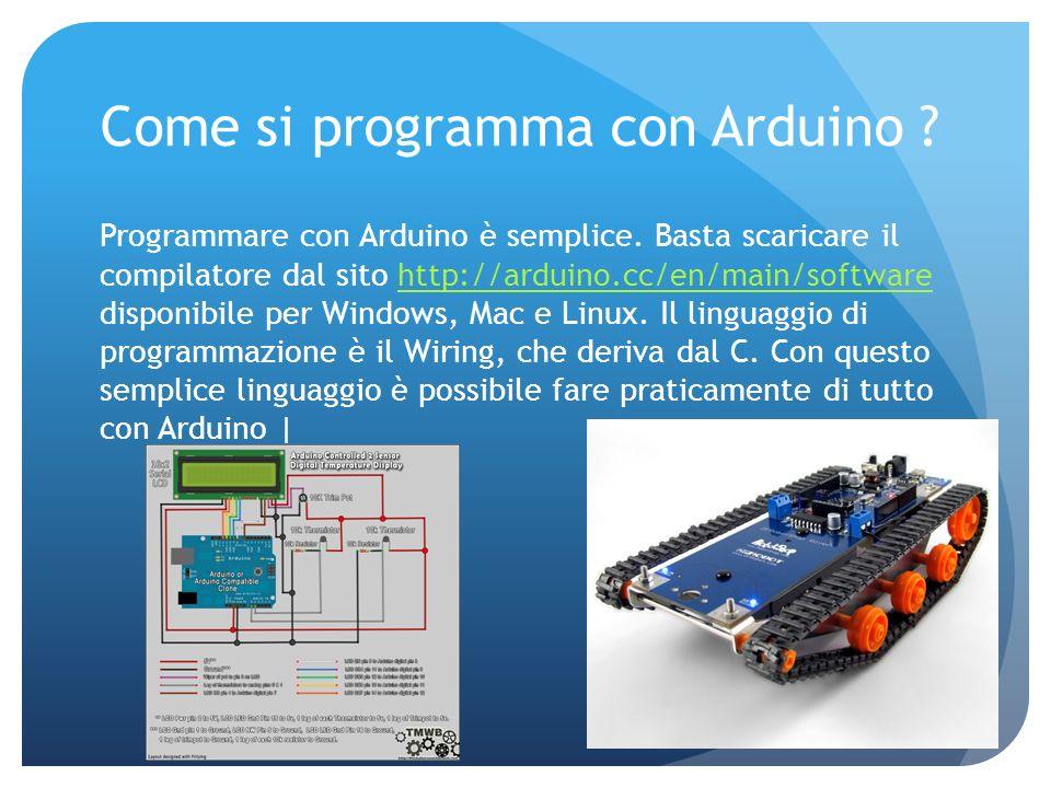 Come si programma con Arduino