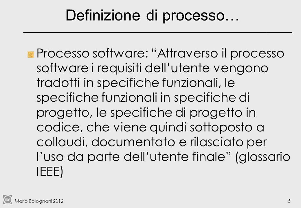 Definizione di processo…