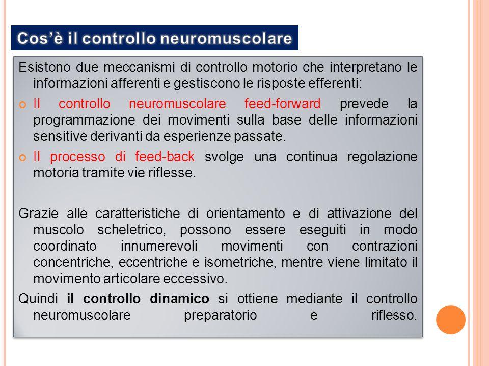 Cos'è il controllo neuromuscolare