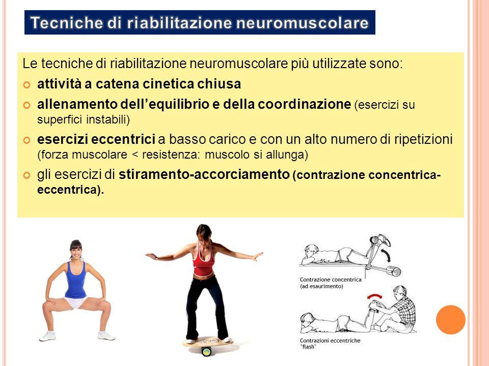 Tecniche di riabilitazione neuromuscolare