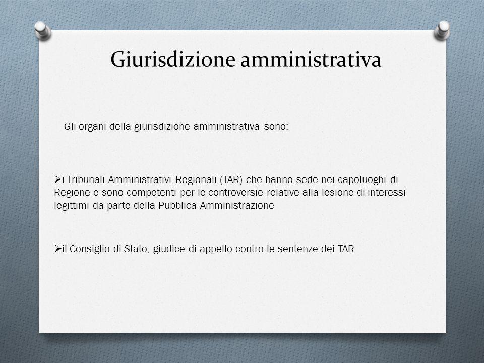 Giurisdizione amministrativa