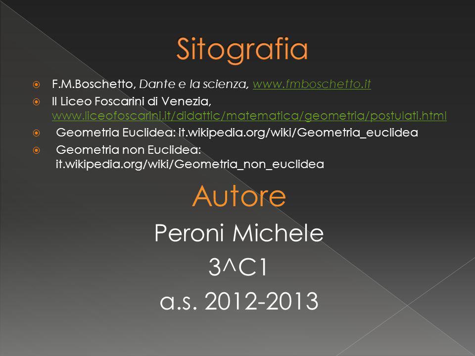 Sitografia Autore Peroni Michele 3^C1 a.s. 2012-2013