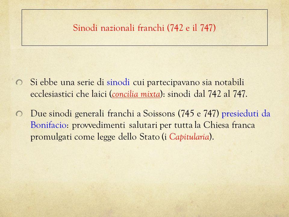 Sinodi nazionali franchi (742 e il 747)