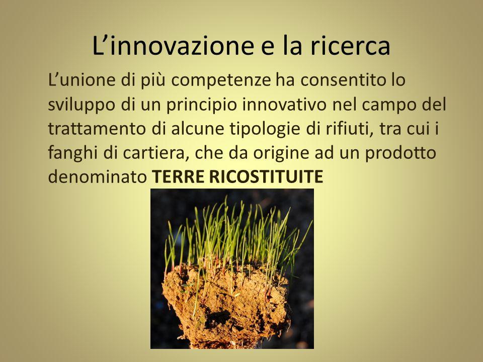 L'innovazione e la ricerca