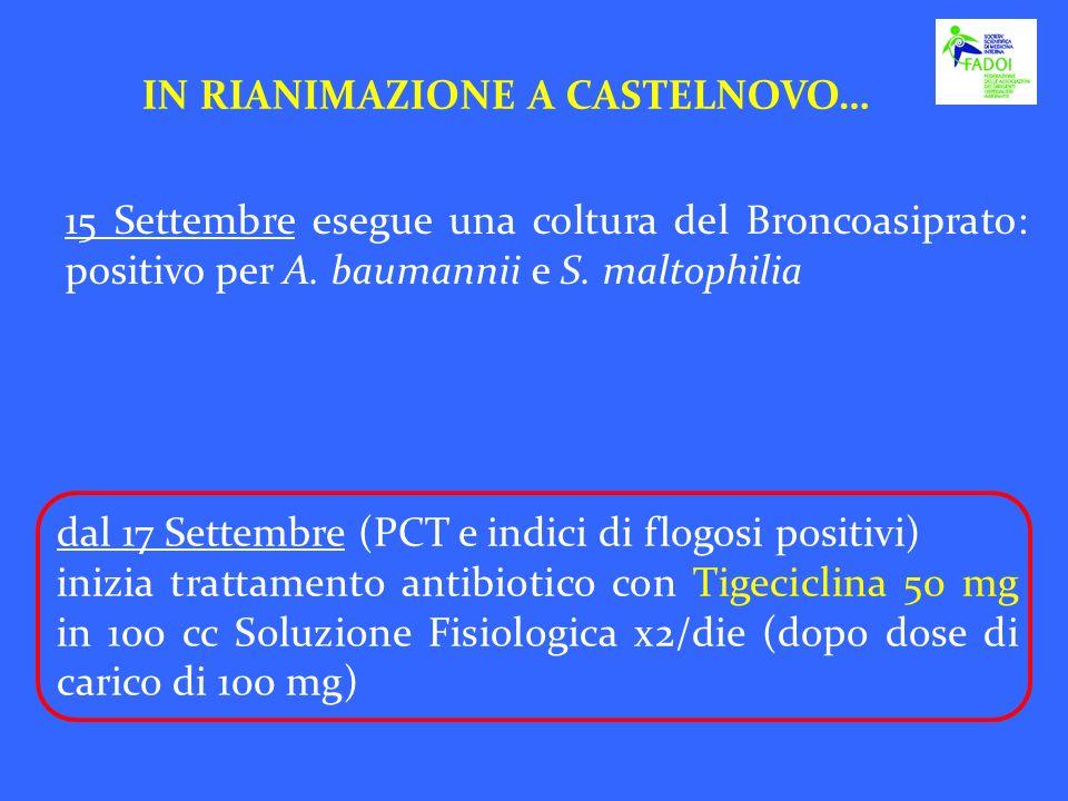 IN RIANIMAZIONE A CASTELNOVO…