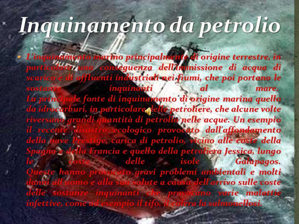 Inquinamento da petrolio