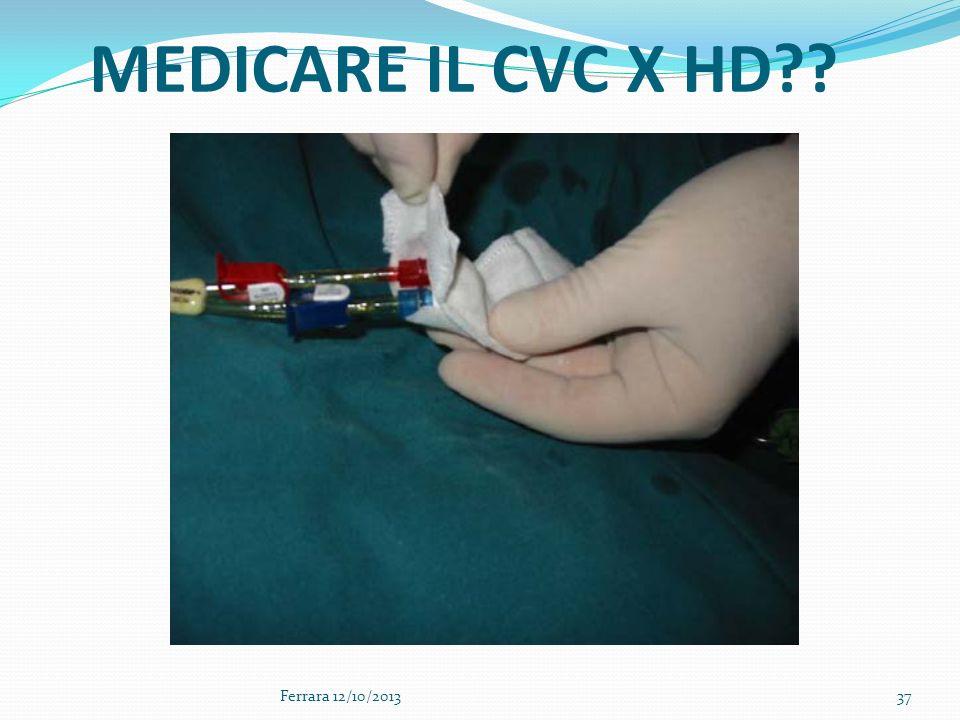 MEDICARE IL CVC X HD Ferrara 12/10/2013