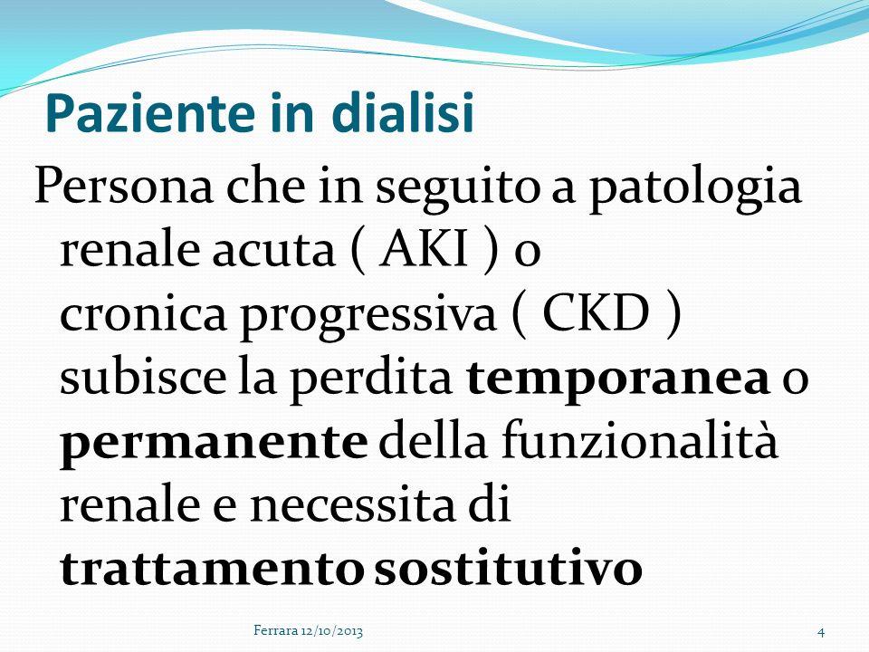 Paziente in dialisi