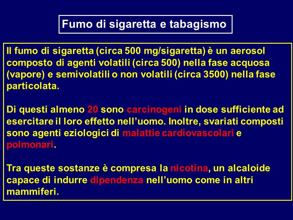 Fumo di sigaretta e tabagismo