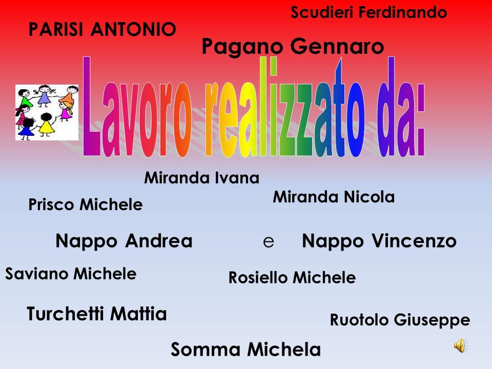 Pagano Gennaro PARISI ANTONIO Nappo Andrea e Nappo Vincenzo