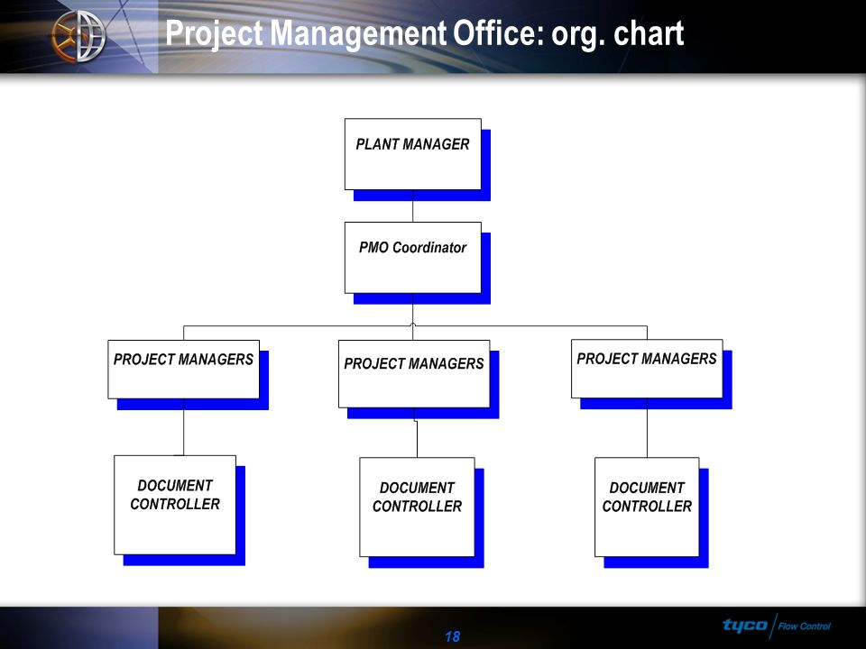 Project Management Office: org. chart