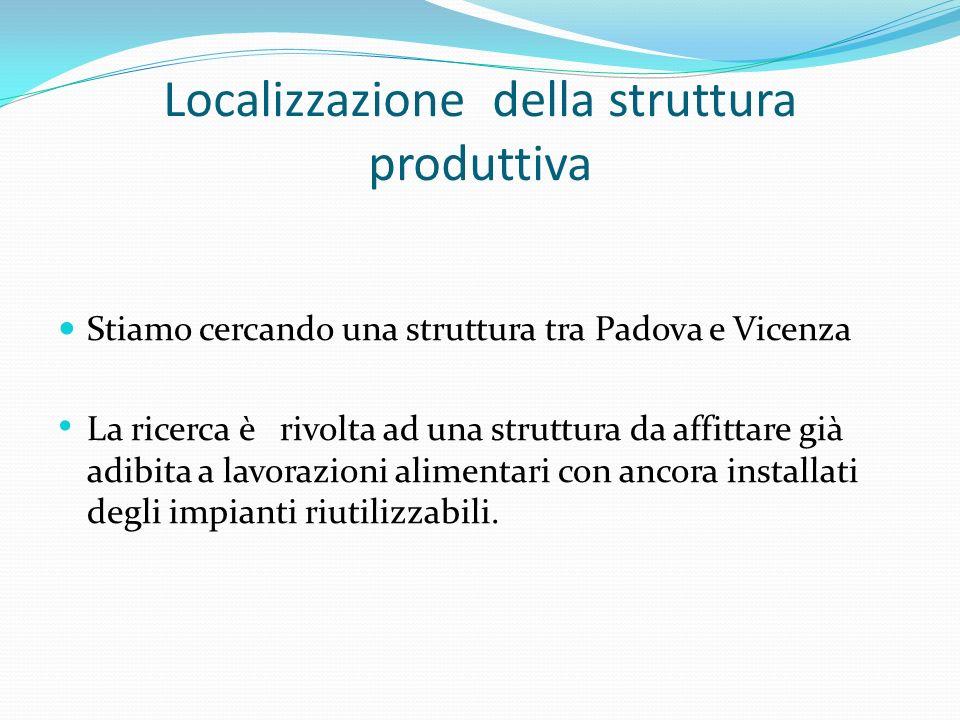 Localizzazione della struttura produttiva