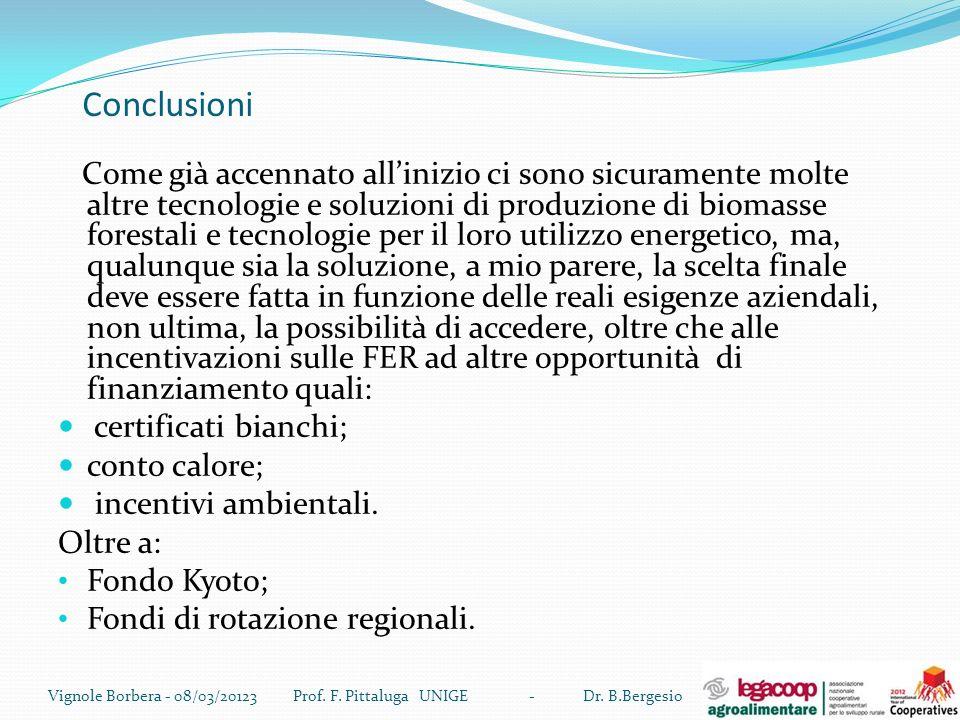 Prof. F. Pittaluga UNIGE - Dr. B.Bergesio