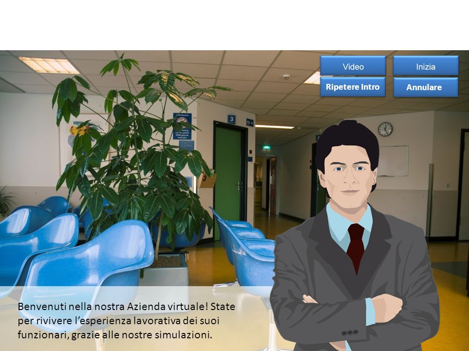Benvenuti nella nostra Azienda virtuale