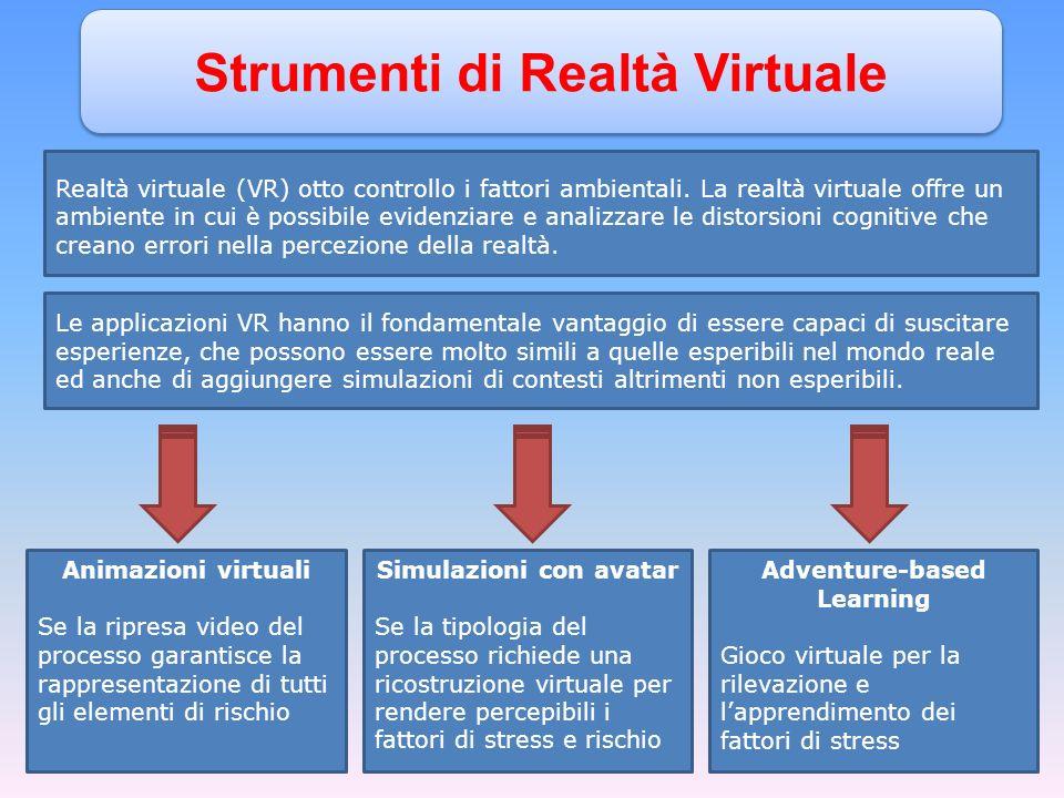 Strumenti di Realtà Virtuale